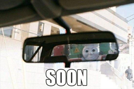 Funny memes, soon meme, thomas the tank engine