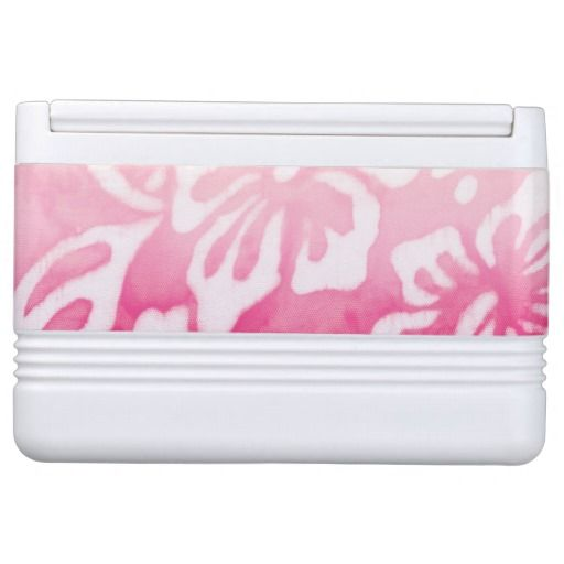Beach Wedding Dolphin Luau Party Nautical Cooler Pink for $56.95, click for sales!