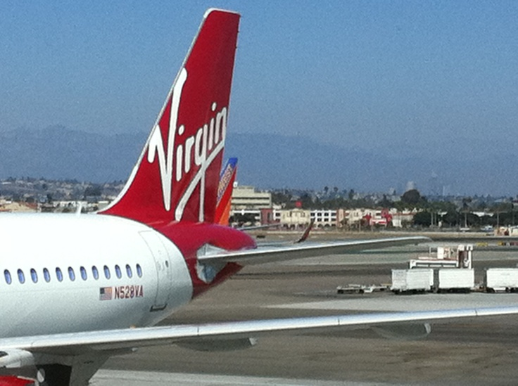 Virgin America A319 @ LAX (N528VA)