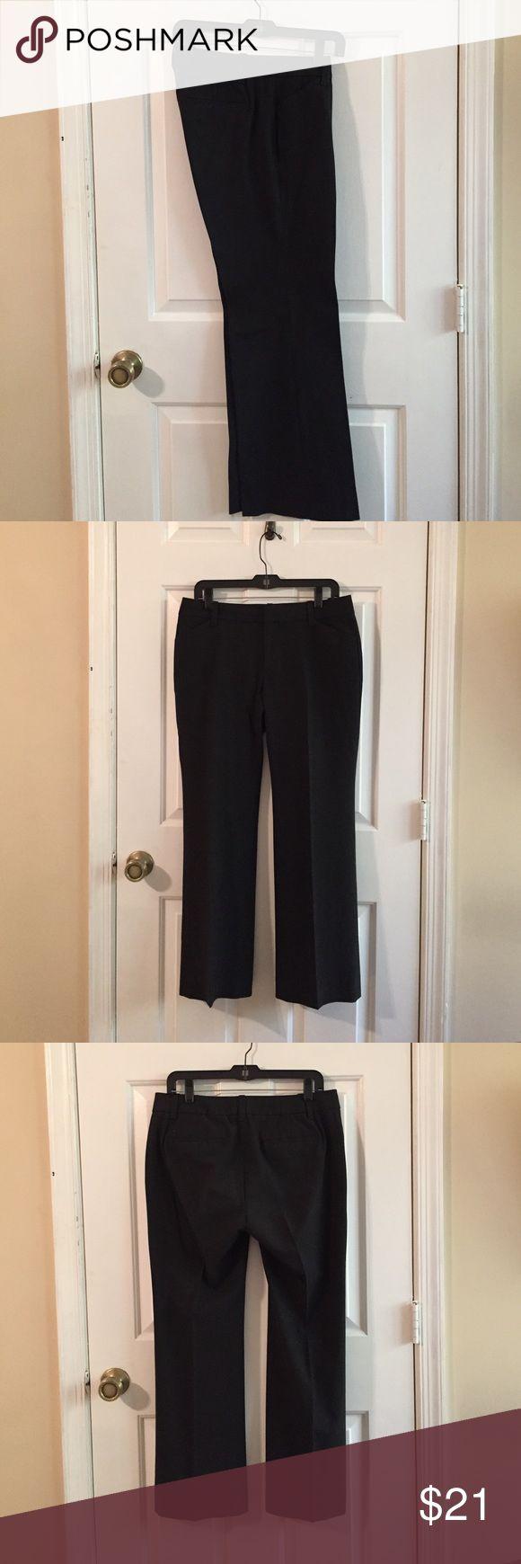 GAP Curvy Stretch Ankle Length 10A Dark Gray GAP Curvy Stretch Ankle Length 10A Dark Gray GAP Pants Trousers