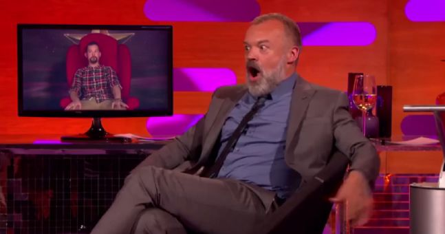 WATCH: Guy Gets Dumped In The Most Hilariously Cruel Way On The Graham Norton Show