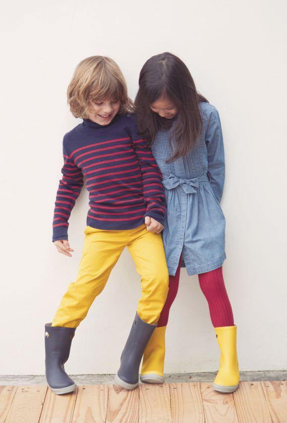 Kids fashion - Petit Bateau - Fall-Winter 2015 Collection