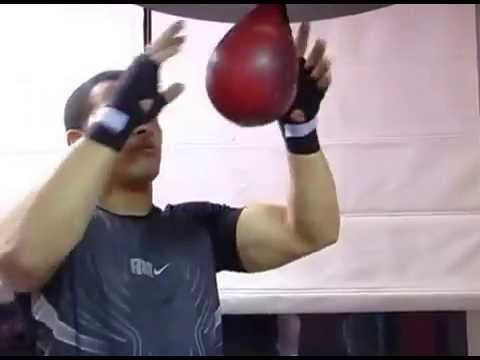 Boxing Lesson 10 - Learning How To Use a Speed Bag Training
