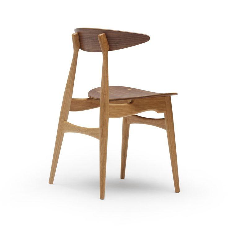 CH33T stol - oljad ek och valnöt - Stolar – Möbler från Svenssons i Lammhult