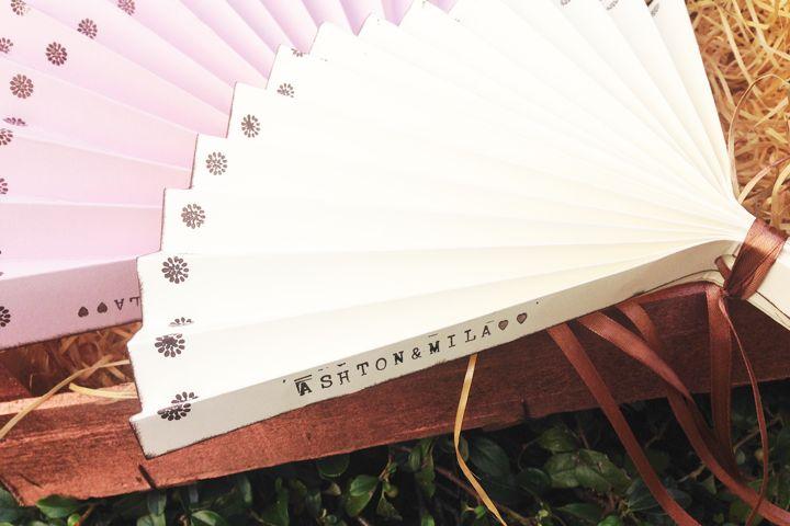 Tolle DIY Hochzeits-Fächer im Vintage Stil zum selber machen mit Stampin' Up Produkten