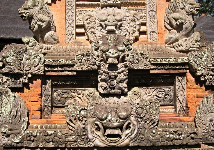 Barong sur un temple à Ubud - Blog Voyage Trace Ta Route www.trace-ta-route.com http://www.trace-ta-route.com/escapade-bali/ #tracetaroute #temple #bali #indonesie #ubud