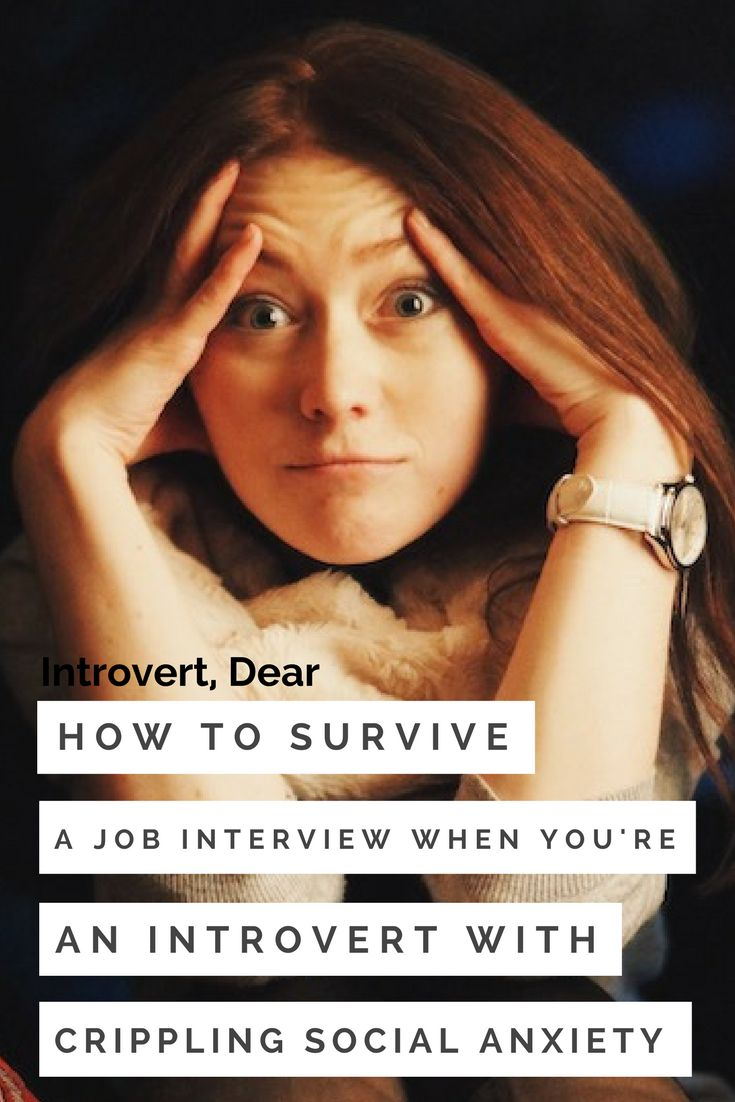 """The dread of an interview starts to build up inside me the moment it is scheduled."""