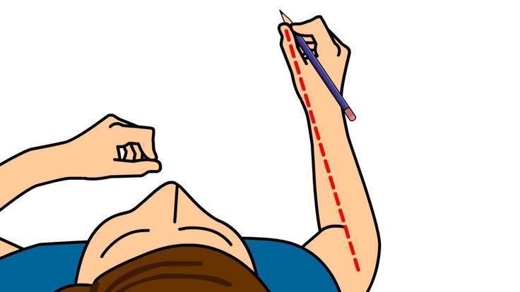Si on ne vous a jamais appris comment tenir un crayon correctement, il est possible que la façon dont vous tenez votre crayon vous rende l'écriture et le dessin plus difficiles. Alternativement, peut-être désirez-vous apprendre à votre enfa...