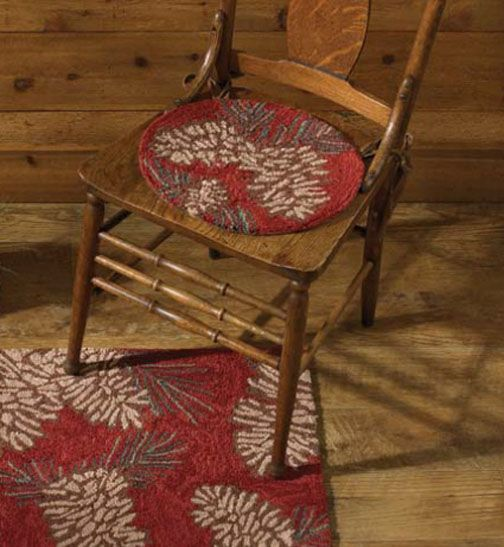 Rug Hooking Is Both An Art And A Craft And Has Been Around For Centuries.  Kitchen Chair PadsKitchen ...