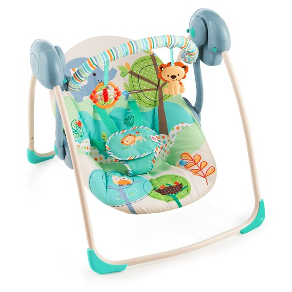 Bright Starts Playful Pals Portable Swing Available Online At  Http://www.babycity