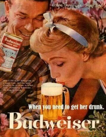 Oh goodness... Budweiser you cheeky sum'bitch.