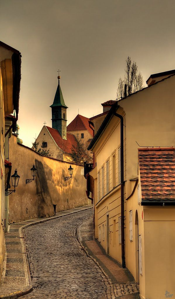 Nový svět quarter, part of my Prague Behind The Scenes tours. Amazing place. www.praguebehindthescenes.com