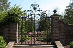the lady garden at gwynedd mercy college