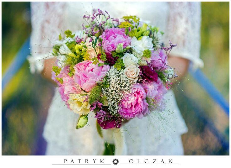 Kwiaty ślubne bukiet www.patrykolczak.pl