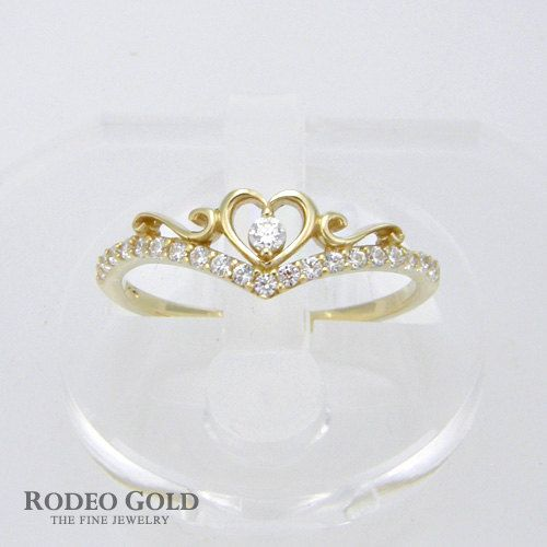 Heart of crown gold ring by RodeoGoldCom on Etsy, $159.00 too cute! would be a great promise ring