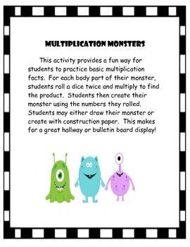 Multiplication Monsters