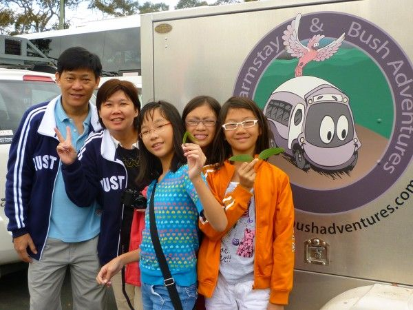 Families love to escape the city on Tours from Sydney to the Blue Mountains.