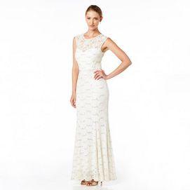 JESSICAR MD Womens Crossover Front V Neck Bridesmaid Dress