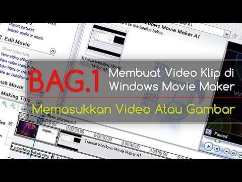 Tutorial Windows Movie Maker [bag.1]    Di tutorial kali ini, kita akan mencoba membuat sebuah film klip sederhana dengan penambahan file berupa video dan gambar.    #WMM #movieMaker #membuatVideo #video