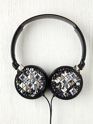 studded with style earphones