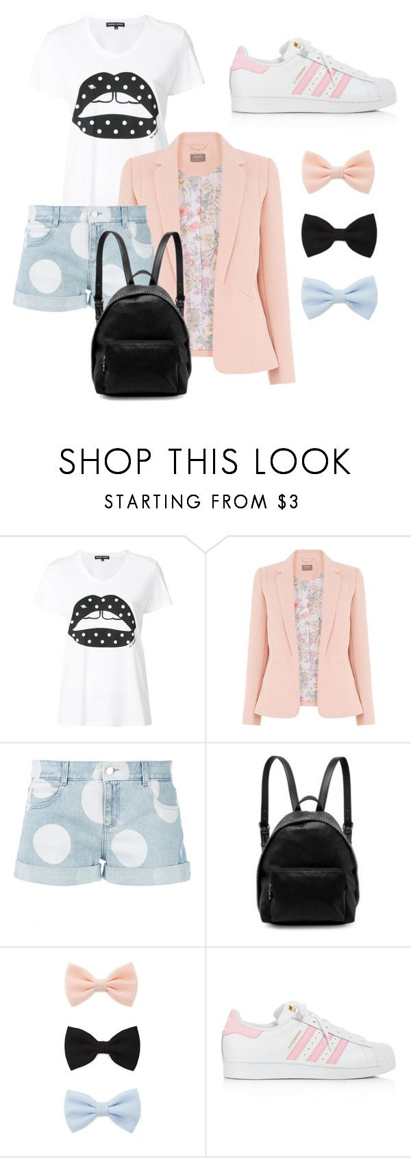 """Ploof"" by grahamzn on Polyvore featuring Markus Lupfer, STELLA McCARTNEY, Forever 21 and adidas"