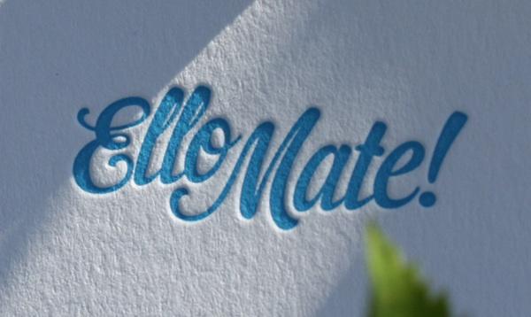 Ello Mate! Business Cards by Ello Mate!  www.ellomate.co.uk