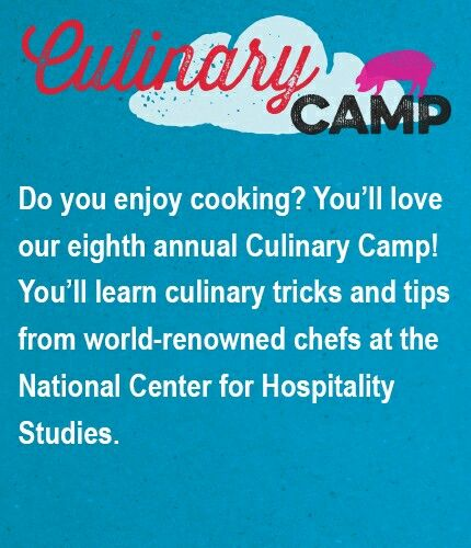 Sullivan university culinary arts camp