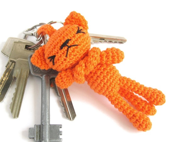 Keyring Amigurumi Cat : 252 best images about Crochet Keychains on Pinterest ...