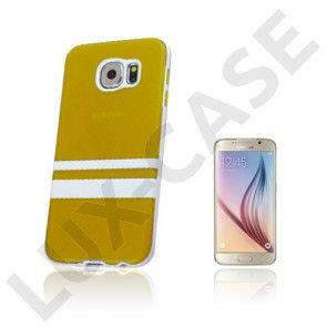 Enkay Samsung Galaxy S6 Cover - Gul