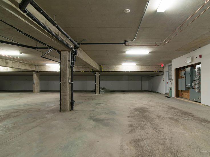 Quartier urbain, Lachenaie underground, parking, minimalist design, car