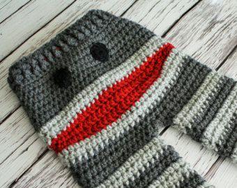 crochet monster pants pattern free - Google Search