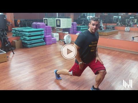 How To Do Lunges With Proper Form - Men's Physique Training Tips