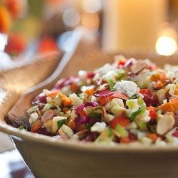 """Use a Spoon"" Chopped Salad - EatingWell.com"