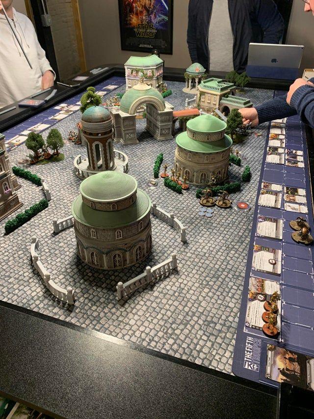 Tonight S Battle For Theed Swlegion Star Wars Figurines Star Wars Rpg Star Wars
