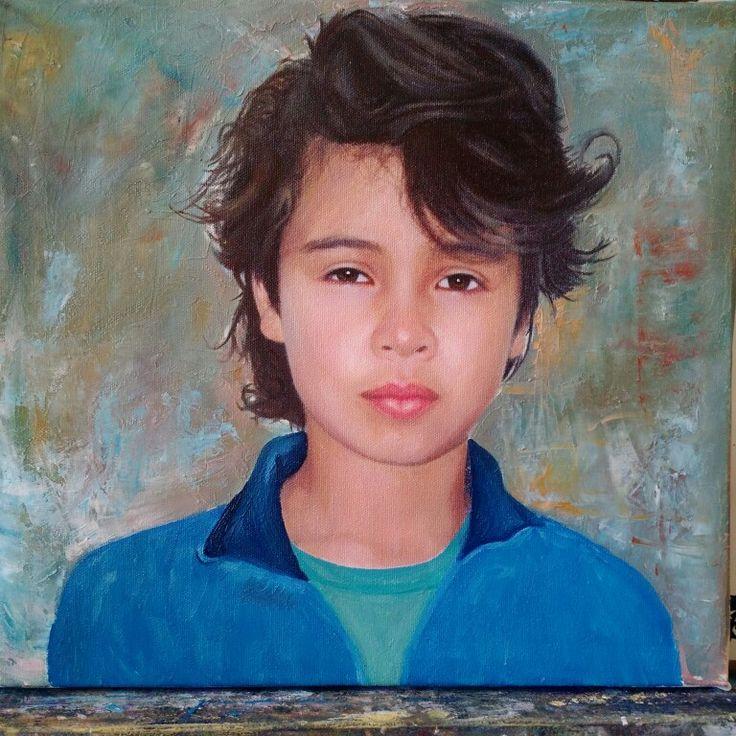 Retrato en olio
