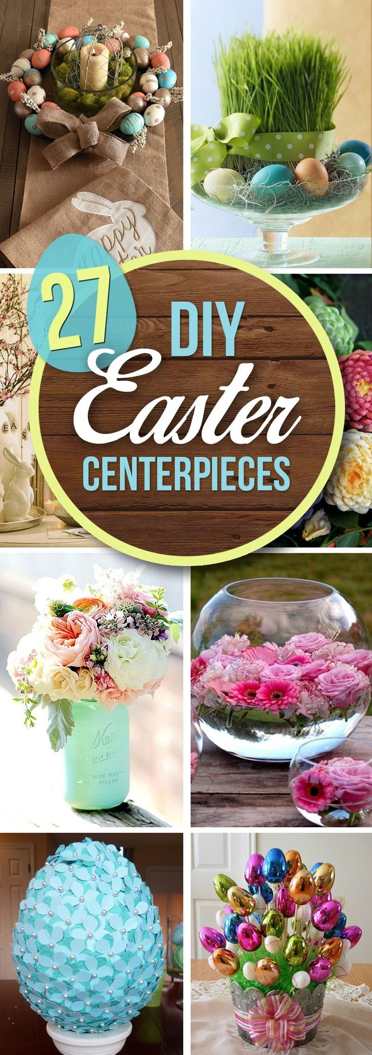 Easter doesn't always get the credit it deserves in terms of decorative ideas, but there are a number of editorial-worthy DIY Easter centerpiece decorations to suit every springtime at-home style. Shabby-chic décor has been making waves for a number of years now, taking its inspiration from a va...