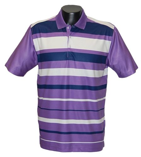 The Men's Polo Prints Omni 831 from Bermuda Sands Apparel features a  moisture wicking fabric to