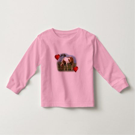 Pony And Lone Gorse toddler t-shirt - click/tap to personalize and buy