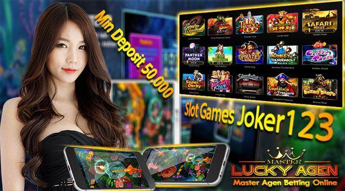 Games Slot Joker - Dapatkan Keberuntungan Bermain Slot Games