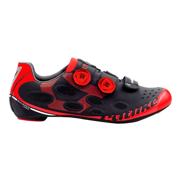 Chaussures Catlike Whisper Road noir rouge | deporvillage