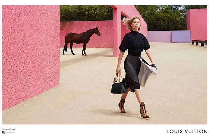 French actress and extreme glamazon Léa Seydoux has had the images from her first campaign with Louis Vuitton revealed, and they're stunning.