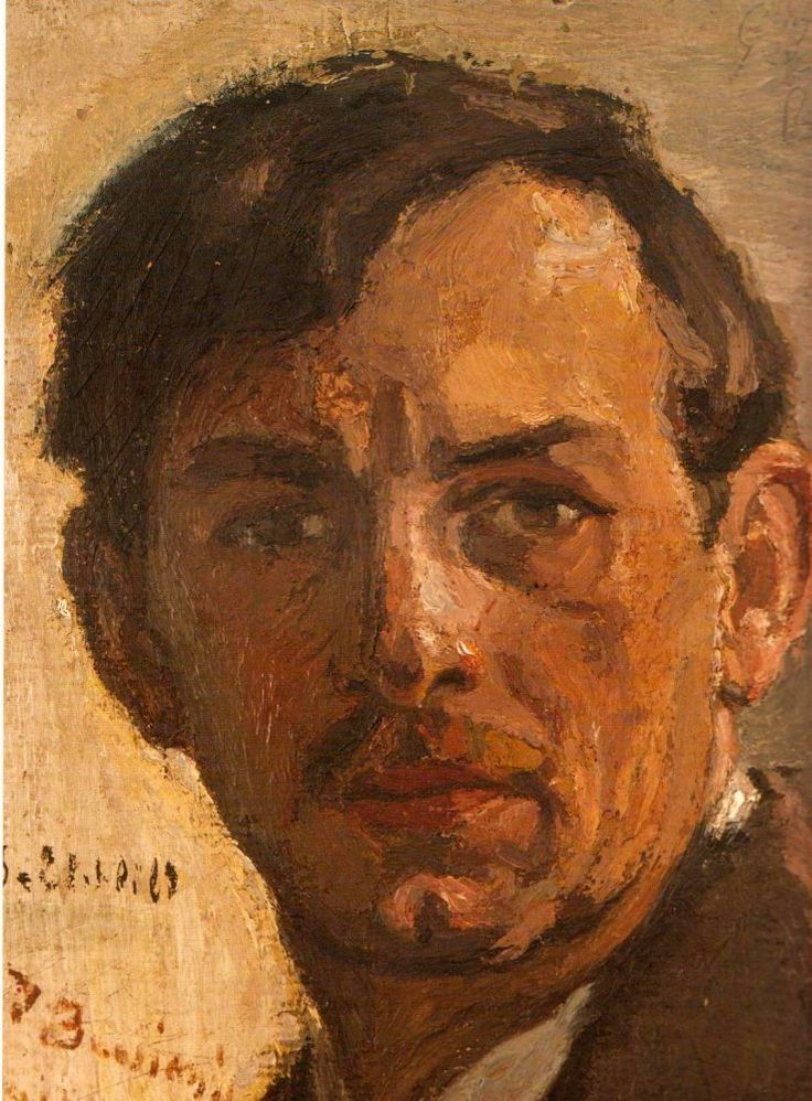Self Portrait, 1913 George Bouzianis