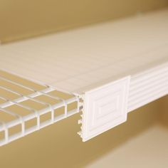 For wire shelf units - 60 in. L x 16 in. W Decorative Wire Shelf Cover and Liner Kit in White (5-Pack)