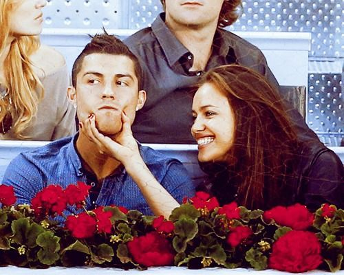Irina Shayk and Cristiano Ronaldo / Cute couple / Romantic / Funny