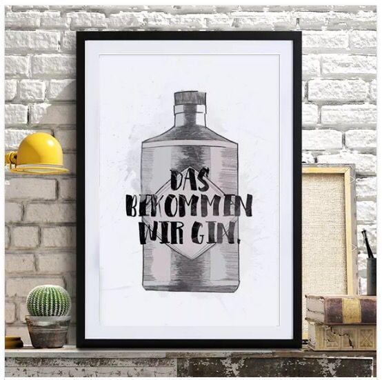 Das bekommen wir Gin.