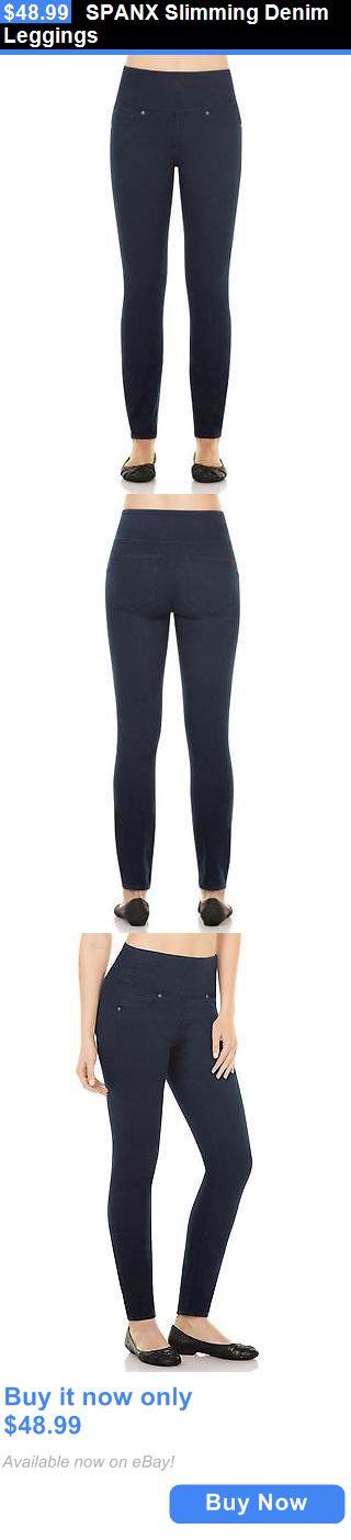 Women Leggings: Spanx Slimming Denim Leggings BUY IT NOW ONLY: $48.99
