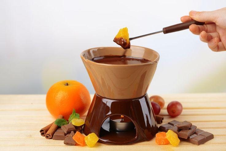 La fonduta di cioccolato