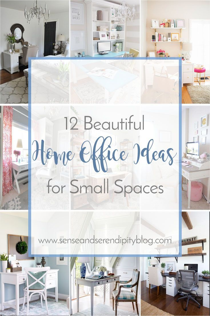 12 Beautiful Home Office Ideas For Small Spaces Cheap Home