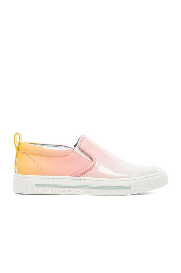 Marc by Marc Jacobs Slip On Sneaker in Sunset Multi ombre summer