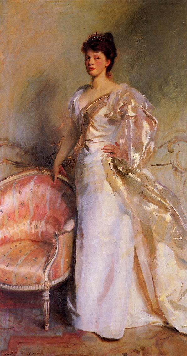 Mahlon Day Sands (Mary Hartpeace) 1893-1894. О, женщина, дитя, привыкшее играть И взором нежных глаз, и лаской поцелуя, Я должен бы тебя всем сердцем презирать, А я тебя люблю, волнуясь…